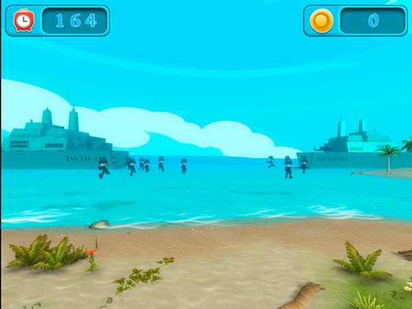 Интерактивный пляж