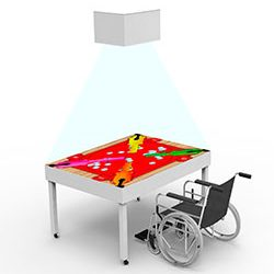 Интерактивная песочница-стол